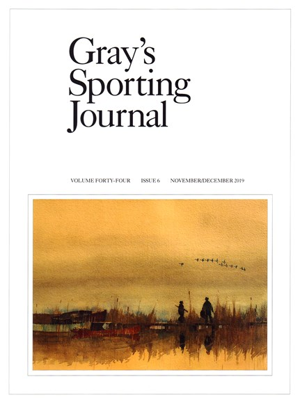 Gray's Sporting Journal Cover - 11/1/2019