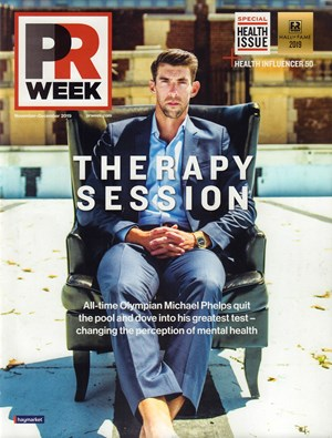 PRWeek Magazine | 11/2019 Cover