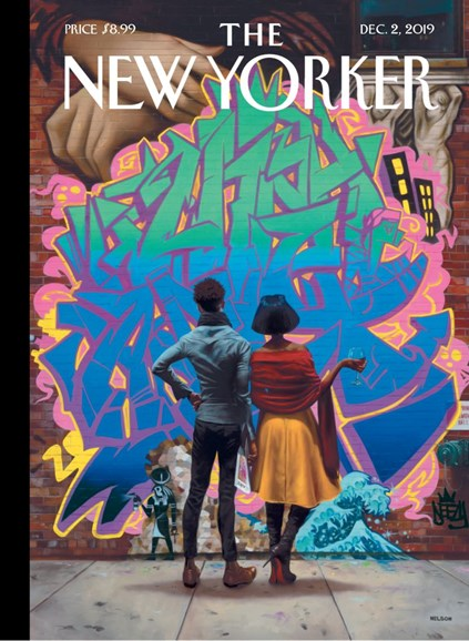 The New Yorker Cover - 12/2/2019
