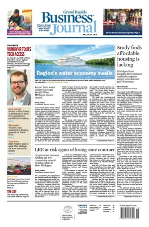 Grand Rapids Business Journal | 5/6/2019 Cover