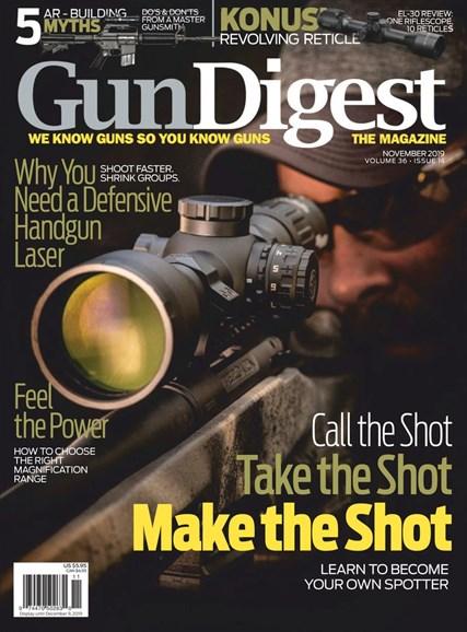 Gun Digest Cover - 11/1/2019