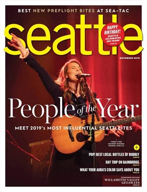 Seattle Magazine | 11/1/2019 Cover