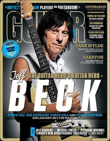 Guitar World Cover - 12/25/2019