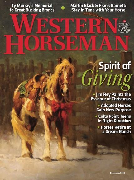 Western Horseman Cover - 12/1/2019
