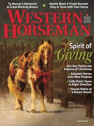 Western Horseman Magazine | 12/2019 Cover