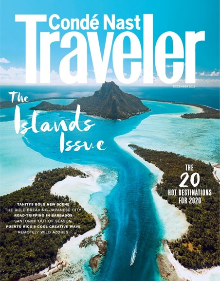 Condé Nast Traveler Cover - 12/1/2019