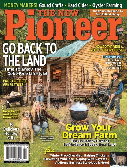 The New Pioneer Cover - 1/1/2020