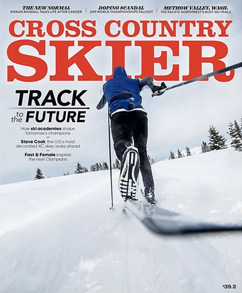 Cross Country Skier Cover - 1/1/2020