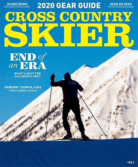 Cross Country Skier Cover - 9/1/2019