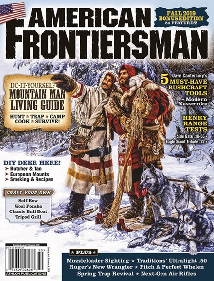 American Frontiersman Cover - 9/1/2019