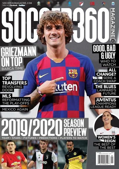 Soccer 360 Cover - 9/1/2019
