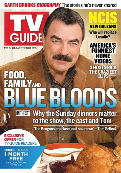 TV Guide Cover - 11/25/2019