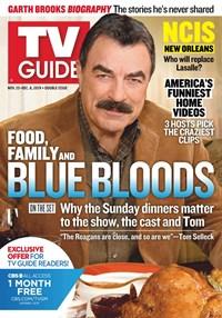 TV Guide Magazine | 11/25/2019 Cover
