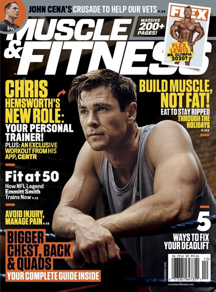 Muscle & Fitness Cover - 12/1/2019