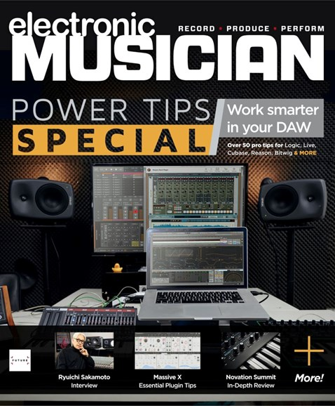 Electronic Musician Cover - 1/1/2020