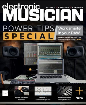 Electronic Musician | 1/2020 Cover