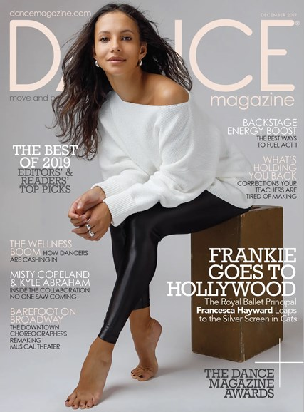 Dance Magazine Cover - 12/1/2019