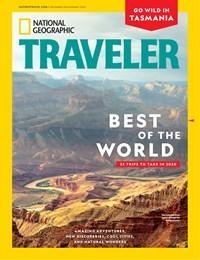 National Geographic Traveler Magazine   12/1/2019 Cover