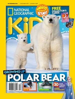 National Geographic Kids Magazine | 12/2019 Cover