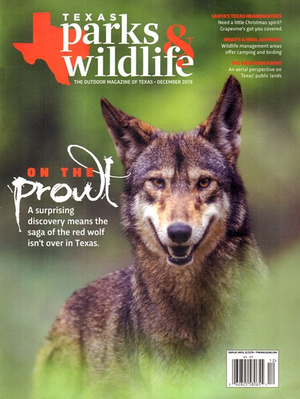 Texas Parks & Wildlife Cover - 12/1/2019