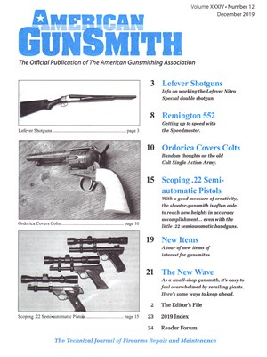 American Gunsmith Magazine | 12/2019 Cover