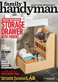 Family Handyman Magazine | 12/2019 Cover