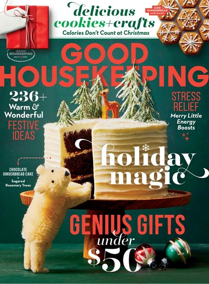 Good Housekeeping Cover - 12/1/2019