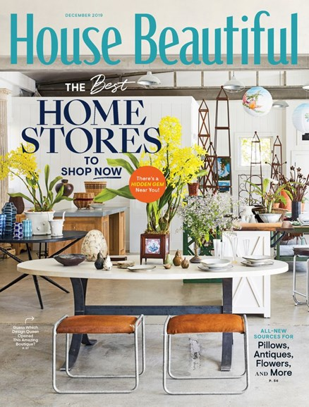 House Beautiful Cover - 12/1/2019