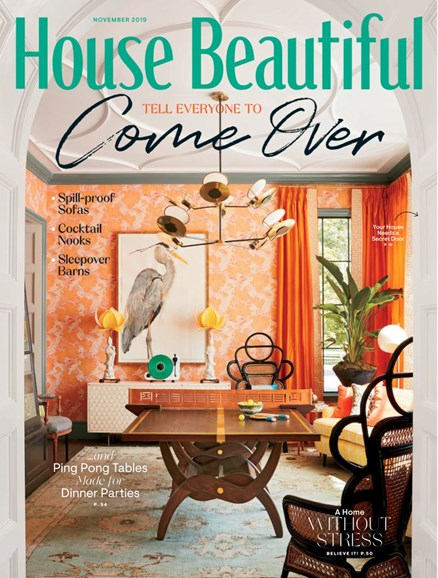 House Beautiful Cover - 11/1/2019