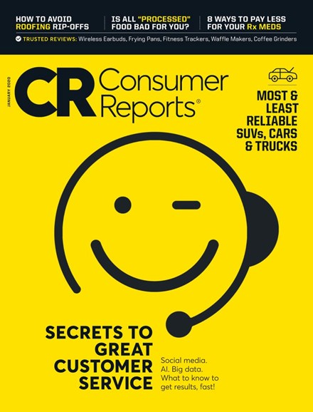 Consumer Reports Cover - 1/1/2020
