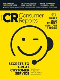 Consumer Reports Magazine | 1/2020 Cover
