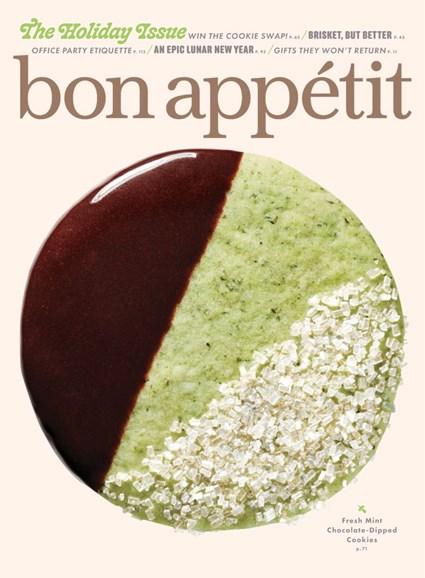 Bon Appétit Cover - 12/1/2019