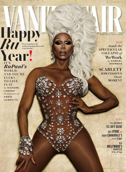 Vanity Fair Cover - 12/25/2019