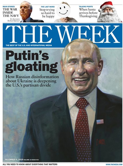 The Week Cover - 12/6/2019