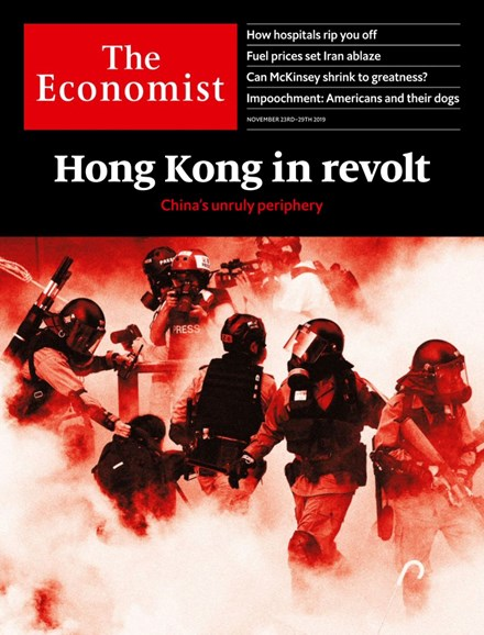 The Economist Cover - 11/23/2019