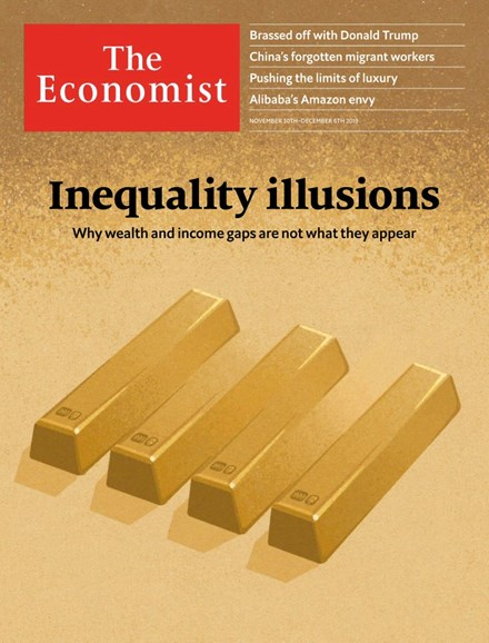The Economist Cover - 12/30/2019