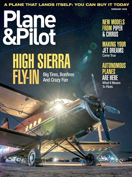 Plane & Pilot Cover - 1/1/2020