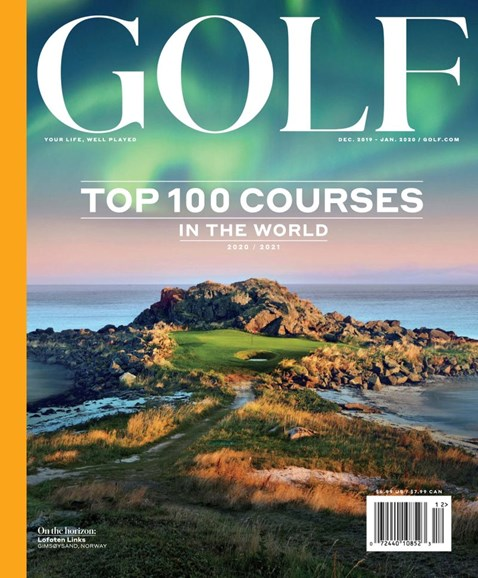 Golf Magazine Cover - 12/1/2019