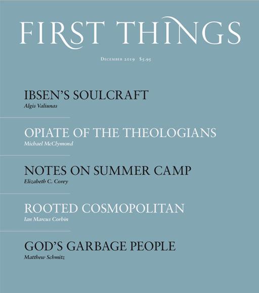 First Things Cover - 12/1/2019