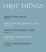 First Things Magazine   12/2019 Cover