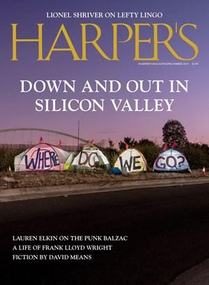 Harper's Magazine | 12/2019 Cover
