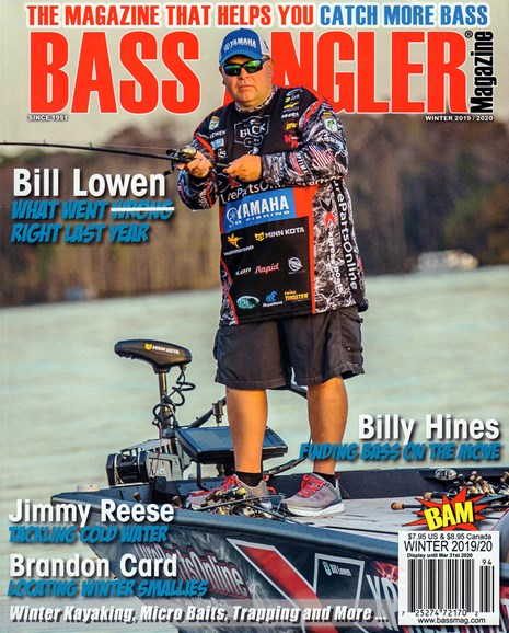 Bass Angler Cover - 12/1/2019