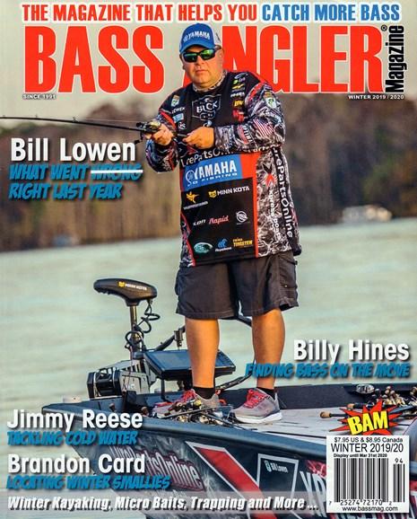 Bass Angler Cover - 12/1/2019