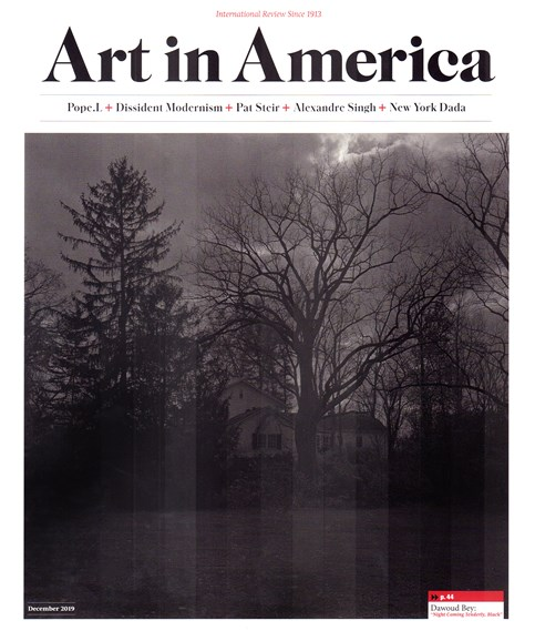 Art In America Cover - 12/1/2019