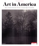 Art In America Magazine 12/1/2019