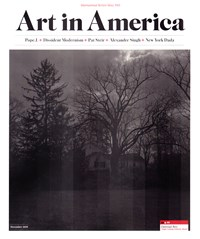 Art In America Magazine | 12/2019 Cover