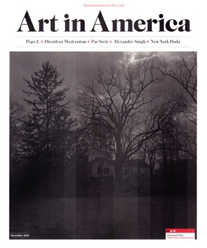 Art In America Magazine | 12/1/2019 Cover
