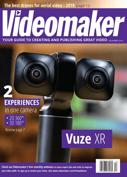 Videomaker Cover - 12/1/2019