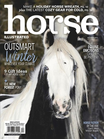 Horse Illustrated Cover - 12/1/2019