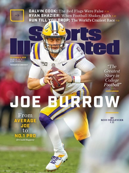 Sports Illustrated Cover - 12/2/2019
